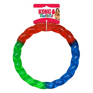 Hundleksak Twistz Ring Large KONG