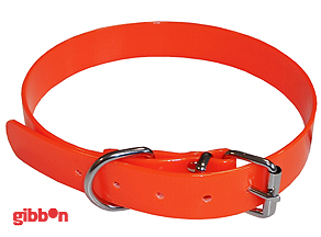 Jakthalsband PVC Orange Small Coneckt