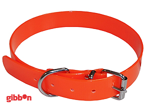 Jakthalsband PVC Orange Medium Coneckt