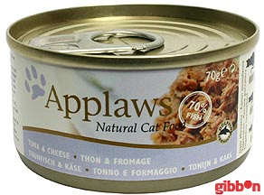 Applaws katt konserv Tuna Fillet&Cheese