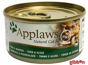 Applaws katt konserv Tuna Fillet&Seaweed