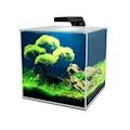 Akvarium Cube 10 Clear Ciano