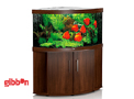 Akvarium Mörkt trä LEDTrigon 350 Juwel