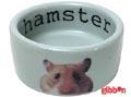 Keramikskål Hamster Grå Beeztees