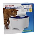 Vattenautmat Shell Pet Fountain Blå/Vit Cat Mate