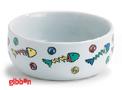 Keramikskål fiskbenmotiv Beeztees
