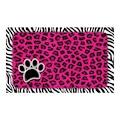 Underlägg Leopard/Zebra Rosa Drymate