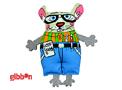Kattleksak Madcap Geeky Squeek Mouse Petstages