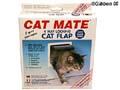 Kattdörr CatMate 4-vägs låsbar Vit