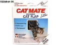 Kattdörr CatMate 2-vägs Vit