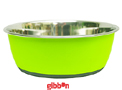 Rostfri skål Antislip Grön 0,95 liter Tyrol