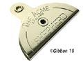 Visselpipa platt fårträning Acme Silver