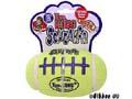 Hundleksak Kong Air Am.Fotboll Squeaker M