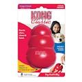 Hundleksak Kong Original gummi röd XLarge