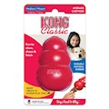 Hundleksak Kong Original gummi röd Medium