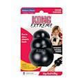 Hundleksak Kong Original gummi svart Med