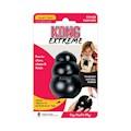 Hundleksak Kong Original gummi svart S