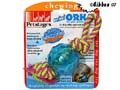 Hundleksak MiniOrka/petstages ball with rope