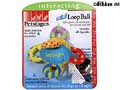 Hundleksak Minitoys Loop Ball