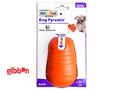 Dog Pyramid Orange Medium Plast Nina Ottosson