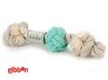 Flossy repknut Nodo Mint med boll Medium Beeztees