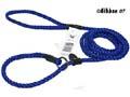 Retriverkoppel Nylon blå Alac