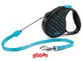 Flexi Classic M Color Dots Blå