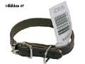 Halsband Läder Alac brun fettat