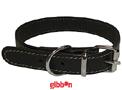 Halsband Läder Medium svart Coneckt