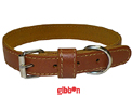 Halsband Läder Medium Toffee Coneckt
