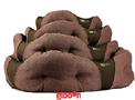 Hundbädd Donut Brun Beco