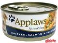 Applaws hund konserv Chicken,Salmon&Rice