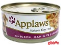 Applaws hund konserv Chicken, Ham&Veg