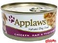 Applaws hund konserv Chicken, Ham&Veg