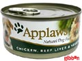 Applaws hund konserv Chicken,Beef,Liver&Veg
